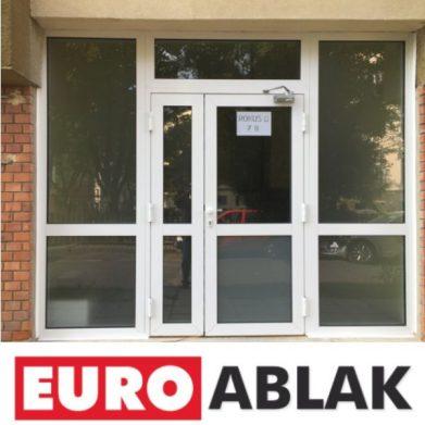 euroablak alu bejarat